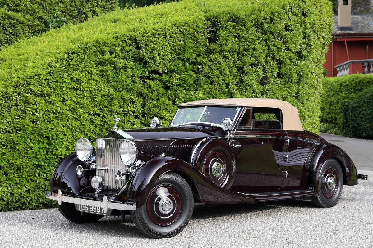 voitures de legende 619 rolls royce phantom iii drophead coupe vanvooren 1937 victor. Black Bedroom Furniture Sets. Home Design Ideas