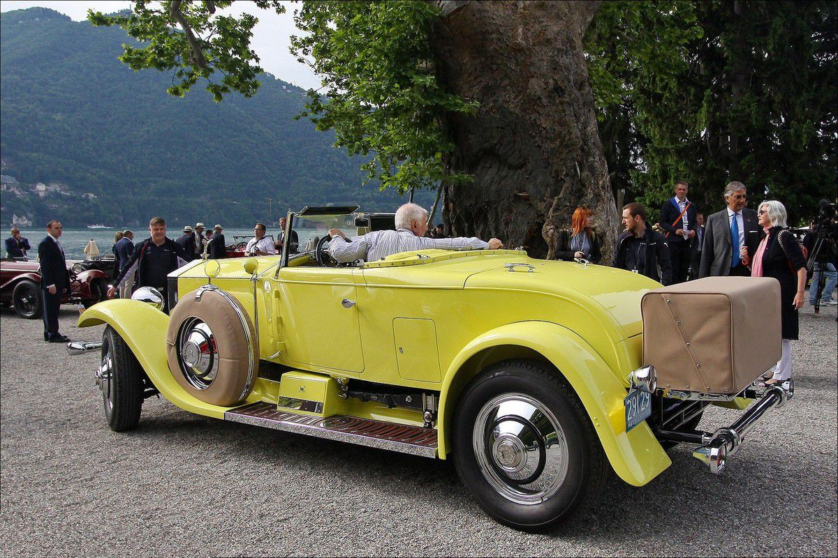 VOITURES DE LEGENDE (626) : ROLLS ROYCE  PHANTOM I  MURPHY CONVERTIBLE COUPE - 1929
