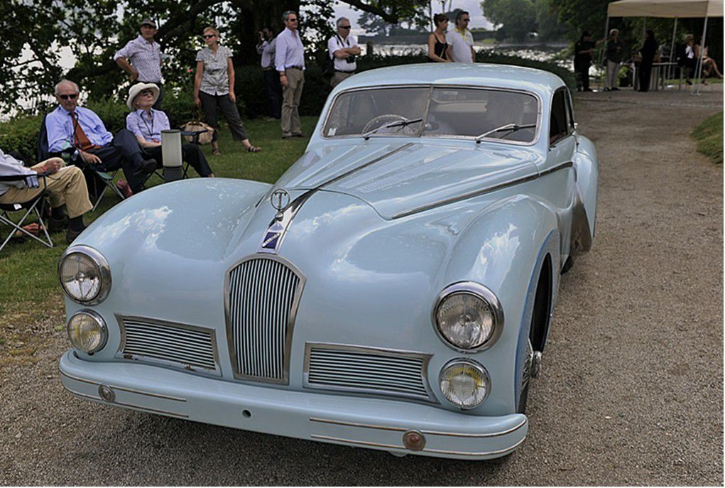 VOITURES DE LEGENDE (642) : TALBOT LAGO  T26 GRAND SPORT  SAOUTCHIK COUPE - 1948