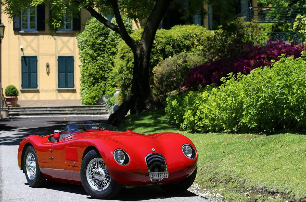 VOITURES DE LEGENDE (648) : JAGUAR  TYPE C - 1952
