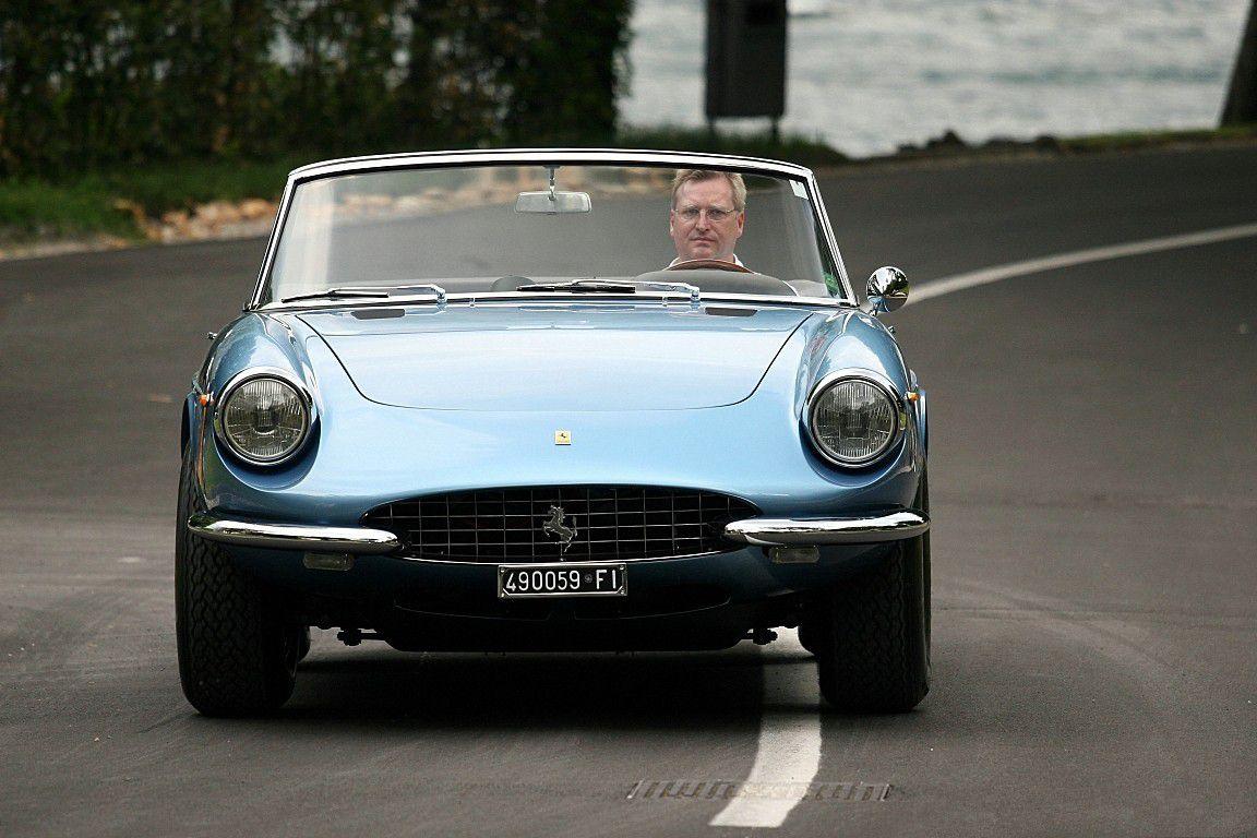 VOITURES DE LEGENDE (651) : FERRARI 365 GTS  PININ FARINA CABRIOLET - 1969