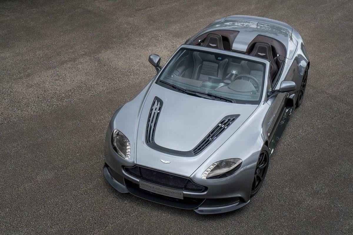 VOITURES DE LEGENDE (655) : ASTON MARTIN  VANTAGE GT12 ROADSTER - 2016