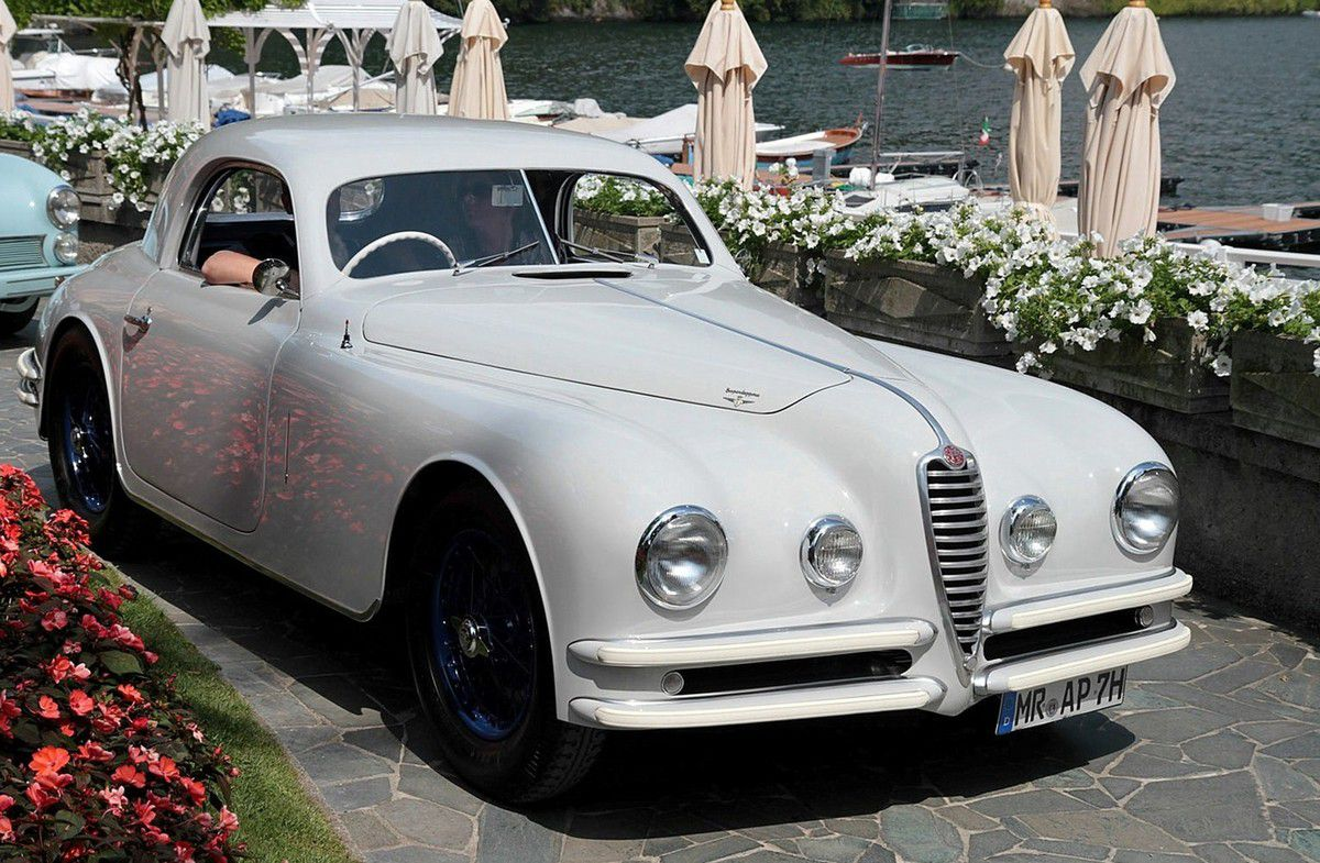 VOITURES DE LEGENDE (659) : ALFA ROMEO  6C 2500 SUPER SPORT TOURING COUPE - 1946
