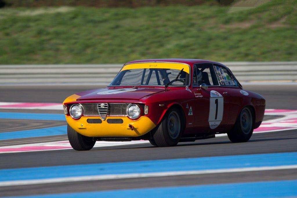 VOITURES DE LEGENDE (669) : ALFA ROMEO  GIULIA 1600  GTA CORSA - 1966