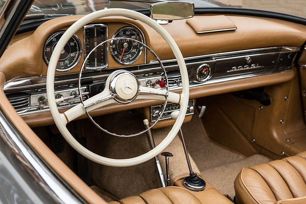 voitures de legende 687 mercedes benz 300 sl roadster 1957 victor association. Black Bedroom Furniture Sets. Home Design Ideas