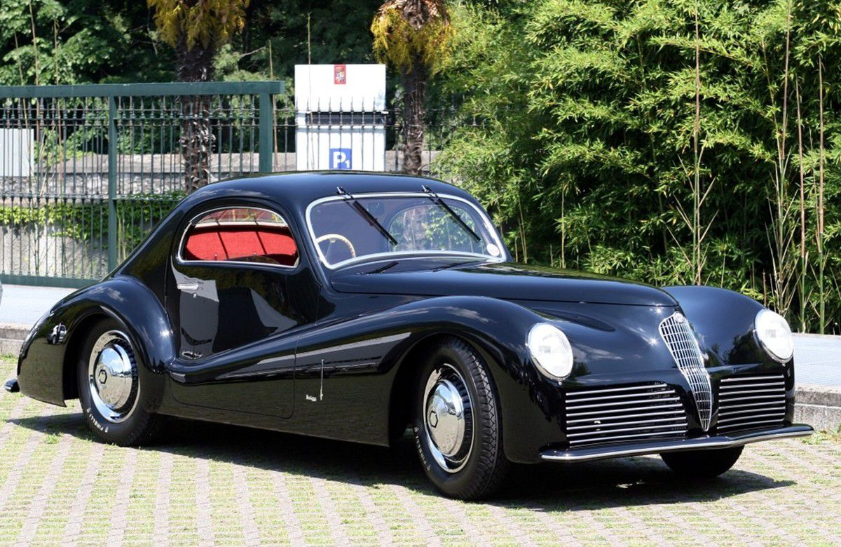 Voitures de legende 689 alfa romeo 6c 2500 super sport bertone coupe 1942 victor association - Alfa romeo coupe bertone a vendre ...
