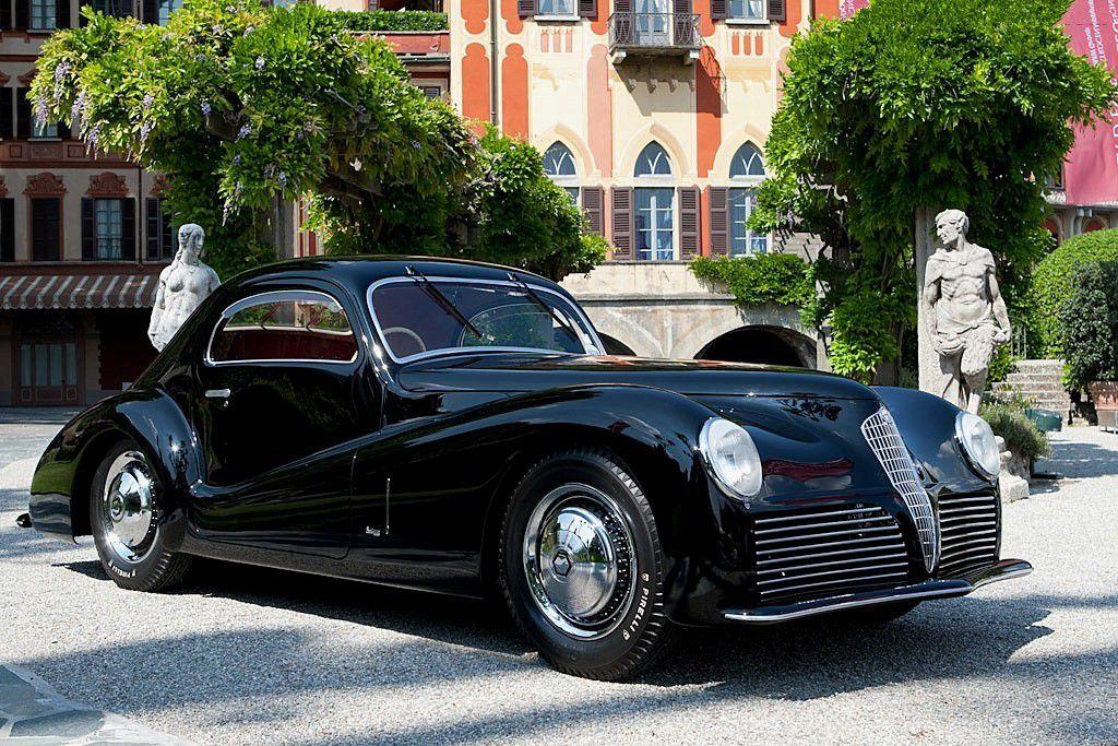 VOITURES DE LEGENDE (689) : ALFA ROMEO  6C 2500 SUPER SPORT  BERTONE COUPE - 1942