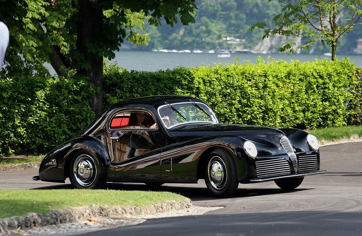 voitures de legende 689 alfa romeo 6c 2500 super sport bertone coupe 1942 victor association. Black Bedroom Furniture Sets. Home Design Ideas