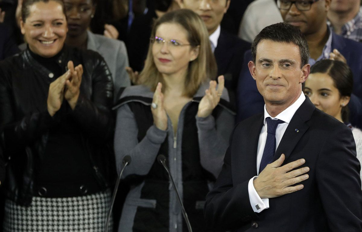 MANUEL VALLS ANNONCE SA CANDIDATURE