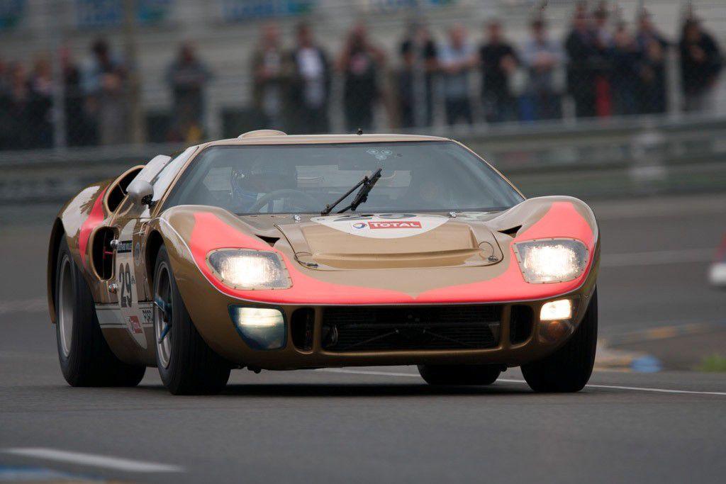 VOITURES DE LEGENDE (695) : FORD  GT40  MkII - 1966