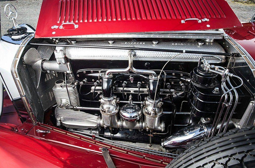 VOITURES DE LEGENDE (707) : MERCEDES BENZ  680 S  ERDMANN &amp&#x3B; ROSSI TOURER - 1928