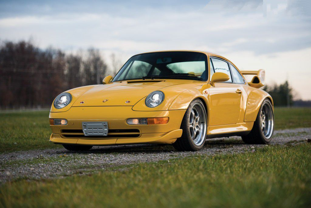VOITURES DE LEGENDE (712) : PORSCHE  911 GT2 - 1995