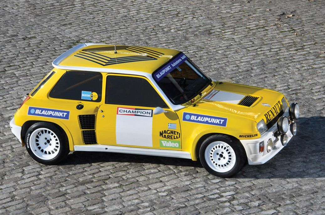 voitures de legende 714 renault 5 turbo tour de corse 1983 victor association. Black Bedroom Furniture Sets. Home Design Ideas