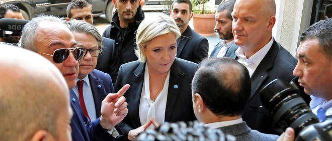 POLEMIQUE SUR LE VOILE POUR MARINE LE PEN AU LIBAN