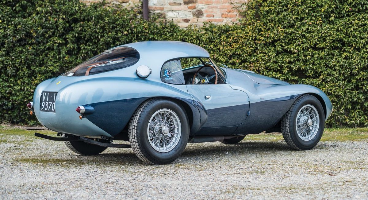 VOITURES DE LEGENDE (728) : FERRARI 166 MM  FONTANA &quot&#x3B;UOVO&quot&#x3B; COUPE - 1950