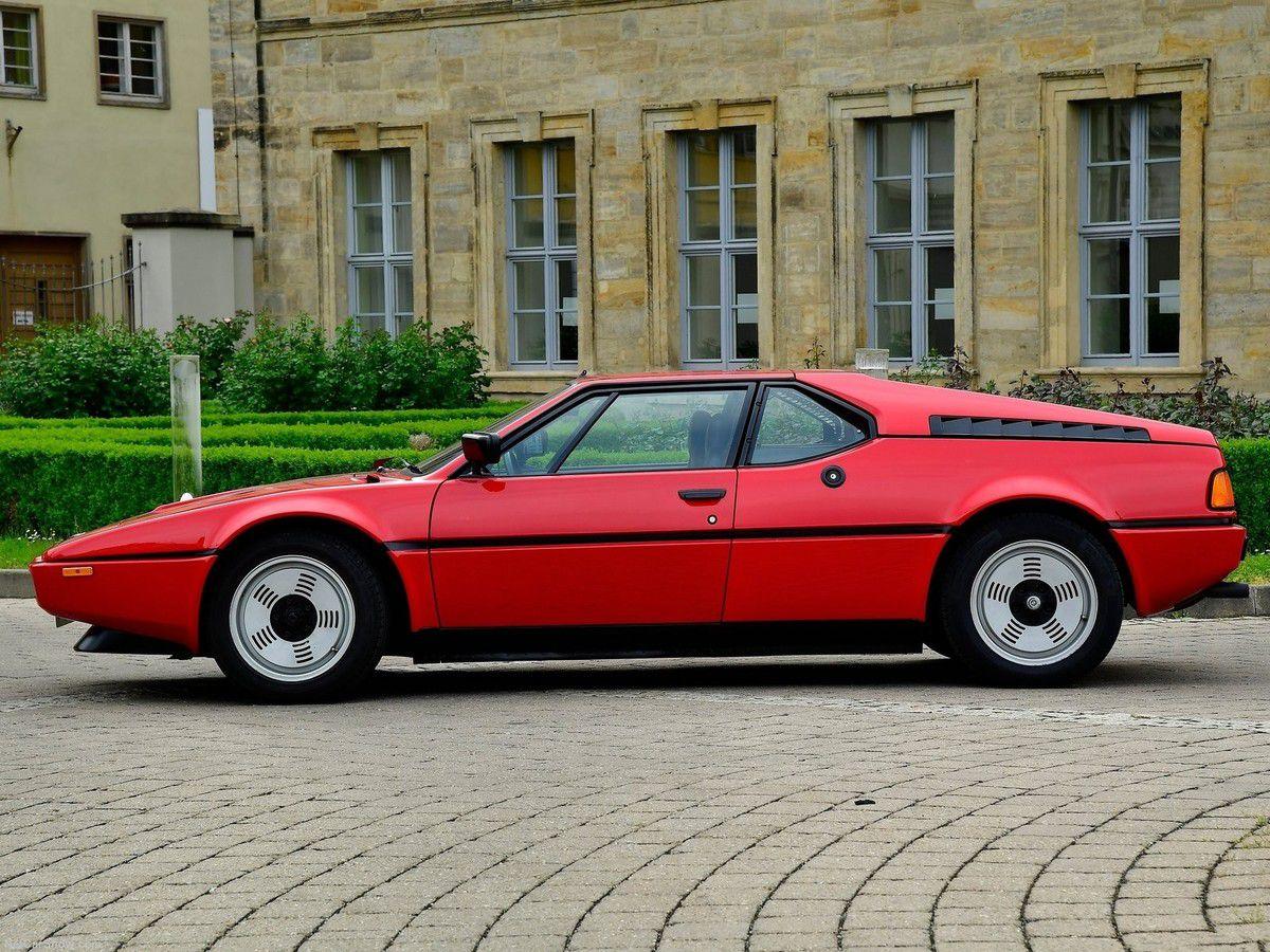VOITURES DE LEGENDE (735) : BMW  M1 - 1979