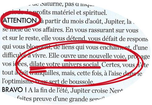Horoscope ELLE 2015