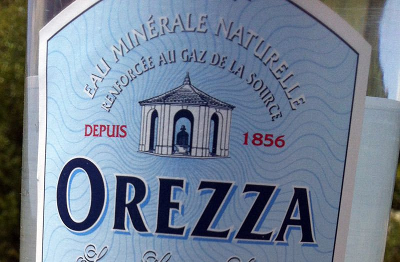 Orezza l'eau Corse Possede LA FORCE !