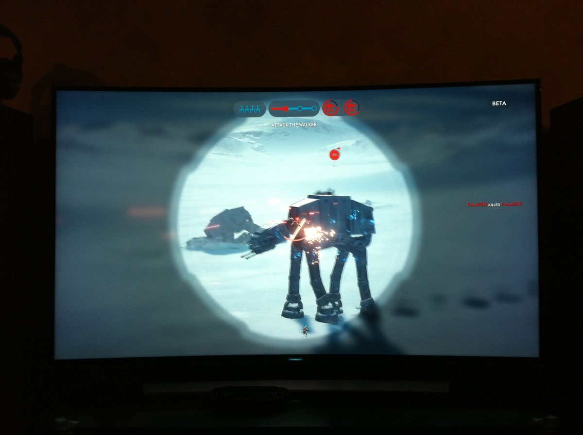 Vador m'a tuer ! Star Wars: Battlefront PS4