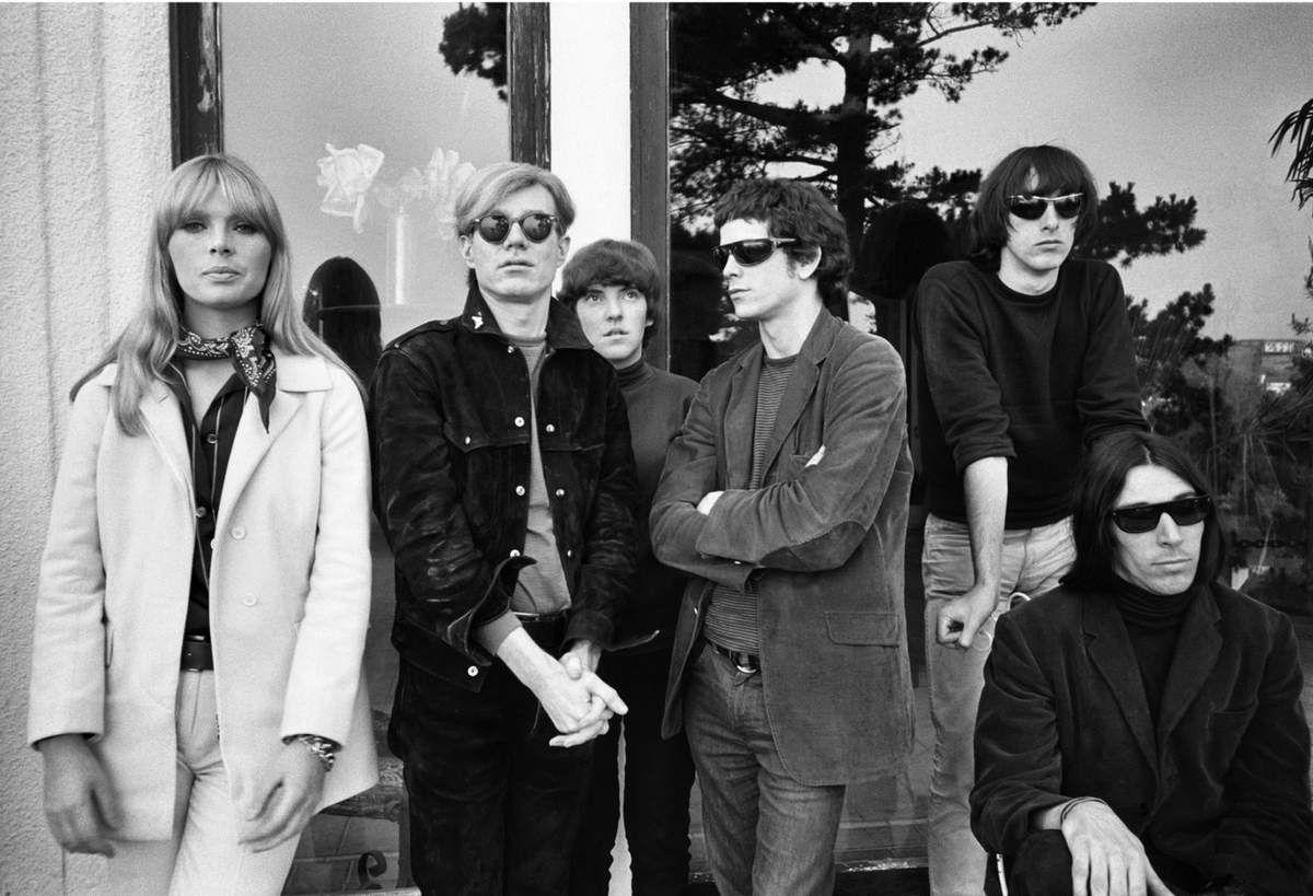 Nico, Andy Warhol, Moe Tucker, Lou Reed, Sterling Morrison et John Cale by Gerard Malanga ©