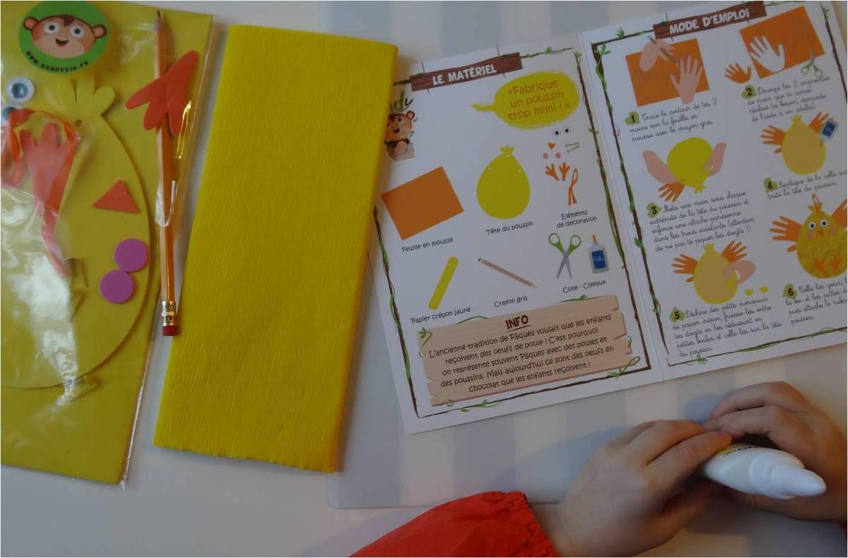 Bricolages créatifs de Pâques avec les enfants