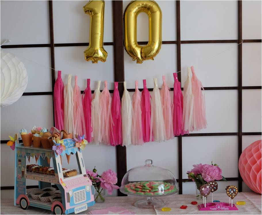 10 ans 🎀 Sweet Party Day !
