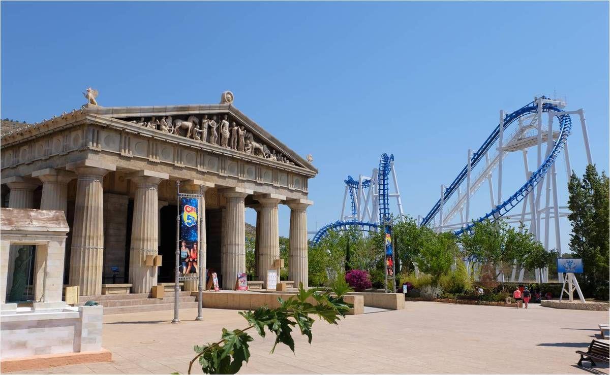 Terra Mitica, le parc d'attractions mythologique !