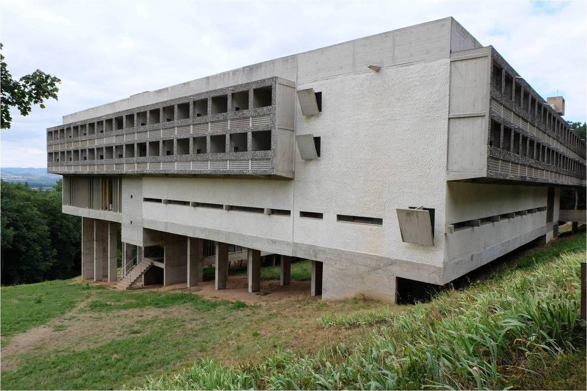 Autour du Couvent de La Tourette, par Le Corbusier