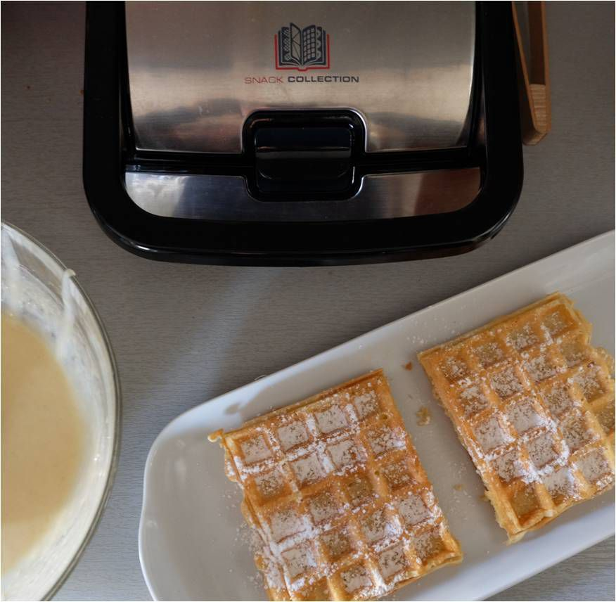 Croque gaufre plus concours snack collection tefal lucky sophie - Gaufrier tefal snack collection ...