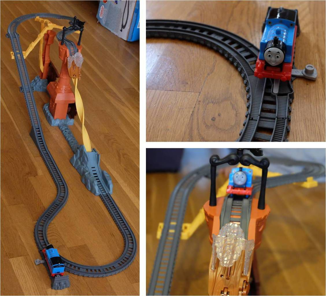 Thomas le train un circuit renversant fisher price lucky sophie blog maman lyon - Train thomas et ses amis ...