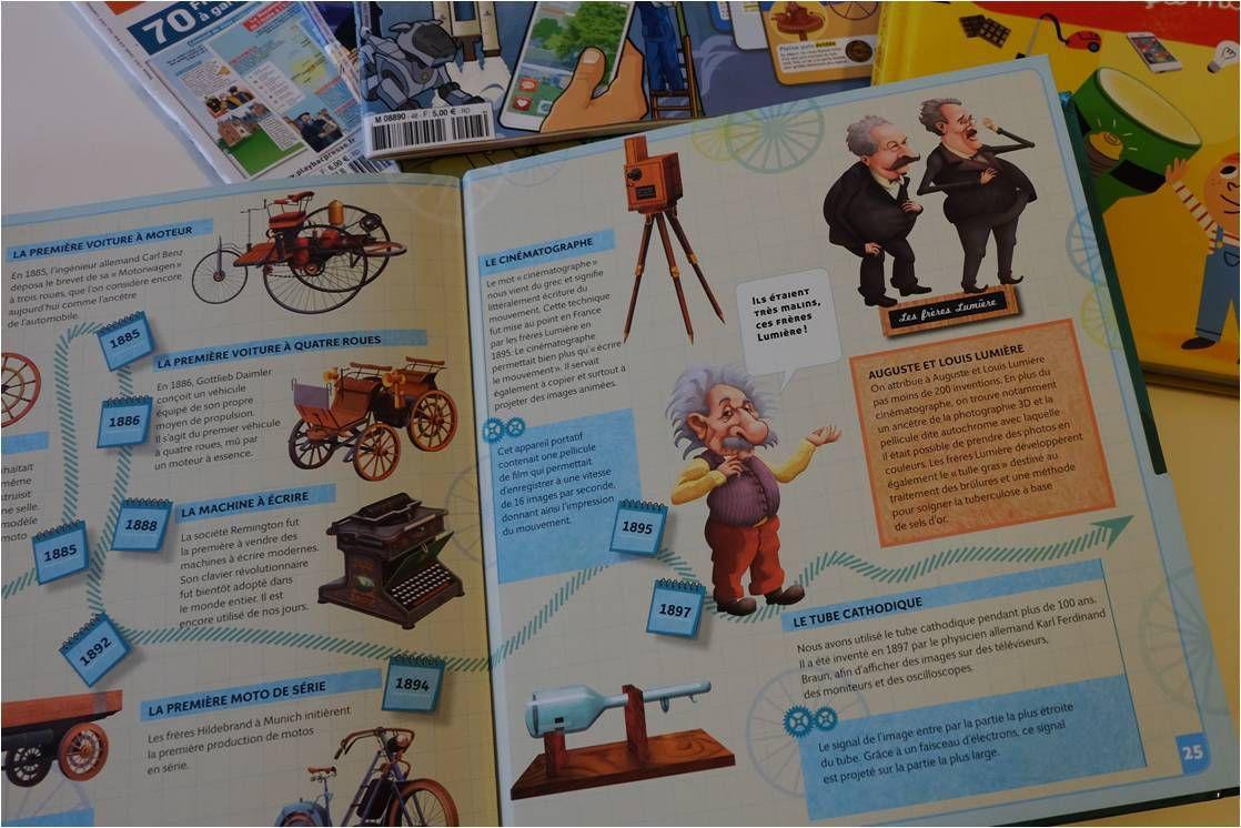 Petites lectures pour futurs grands inventeurs !