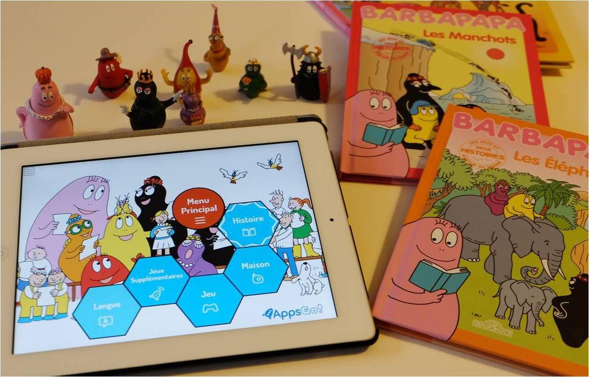Barbapapa, Barbamania ! � livres &amp&#x3B; applis �