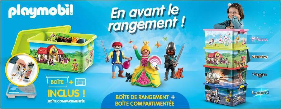 Boite De Rangement Playmobil comment ranger les playmobil ? {concours} - lucky sophie, blog maman
