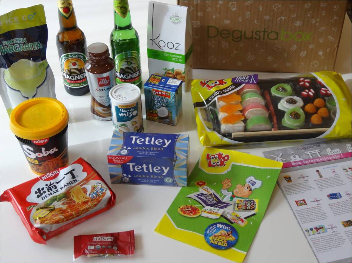 Quand la Degustabox se fait internationale ! �