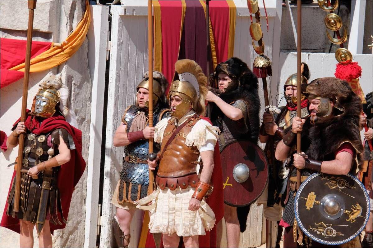 Les Grands Jeux Romains aux Arènes de Nîmes