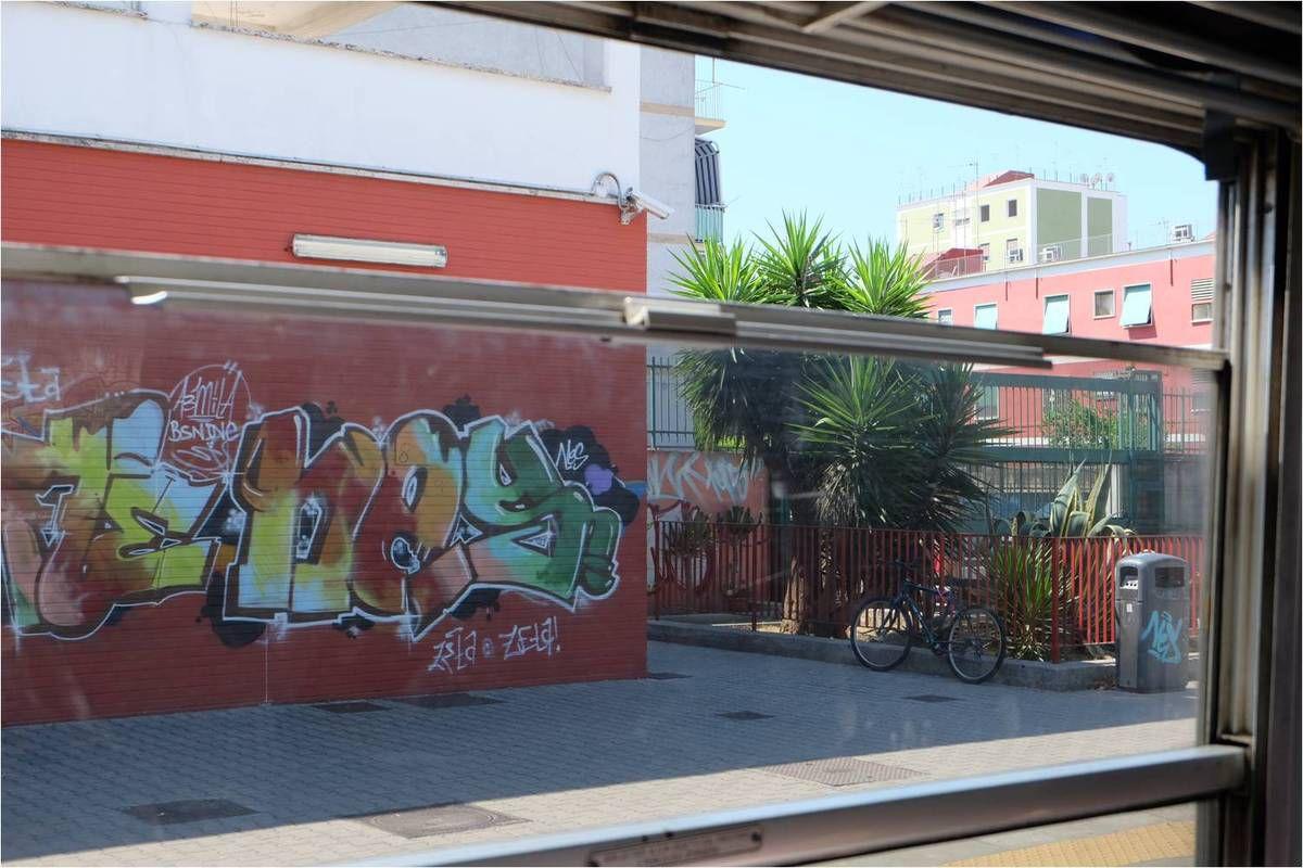 Découvrir les environs de Naples par la fenêtre du train CircumVesuviana
