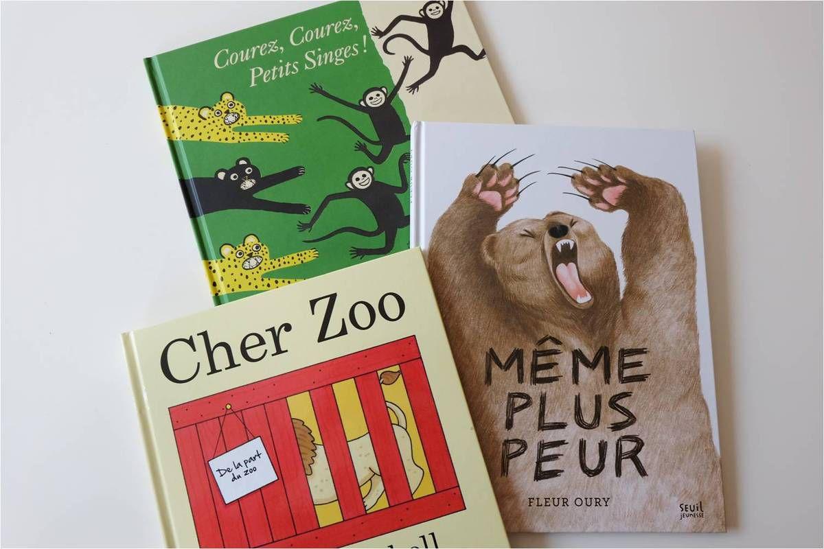 Drôles de livres sur les animaux !
