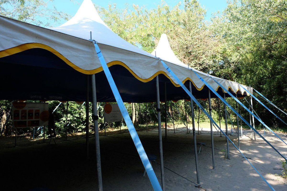 Et des ateliers en libre-accès pour s'initier au trapèze, au fil-de-fer...
