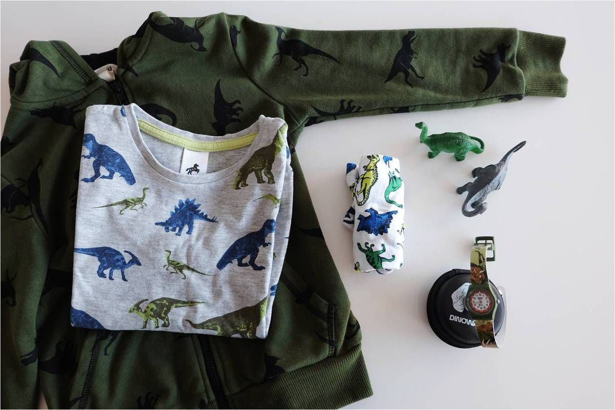 Petit look de Dinolover &amp&#x3B; Dinowatch