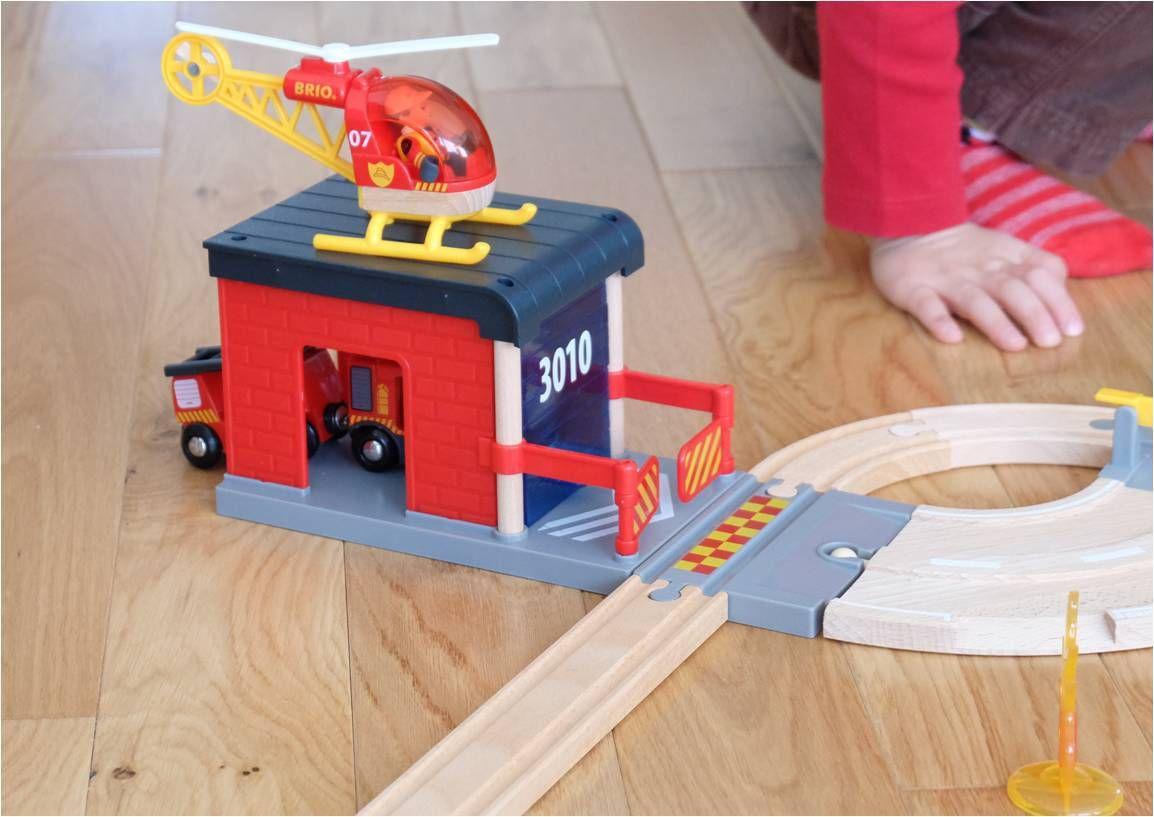 Au feu les Pompiers avec Brio ! {concours}