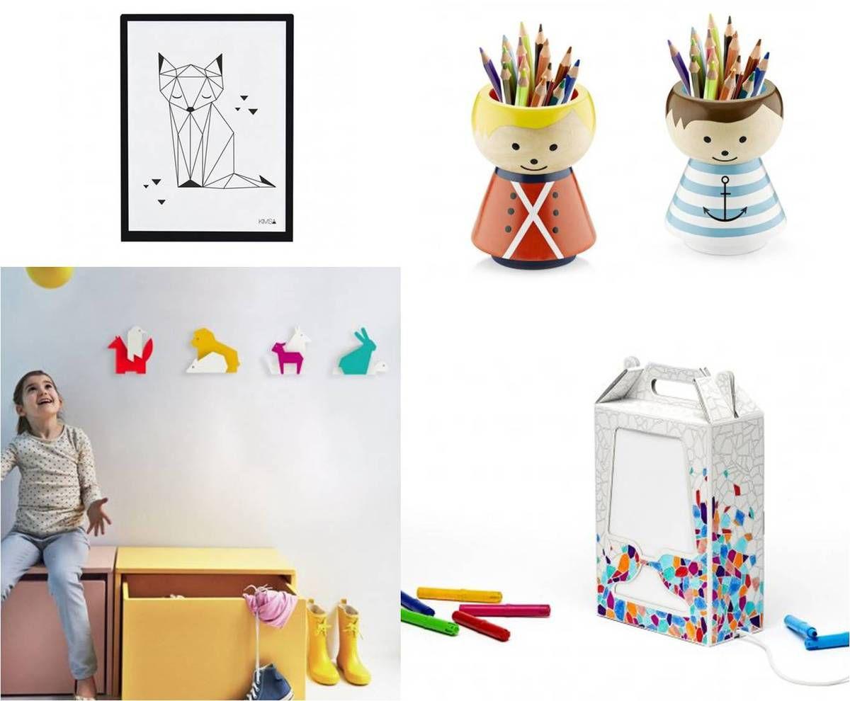Déco et mobilier design pour chambre d'enfant
