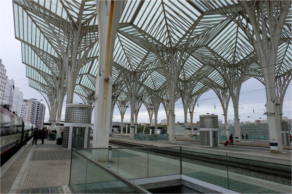 La gare Oriente à Lisbonne
