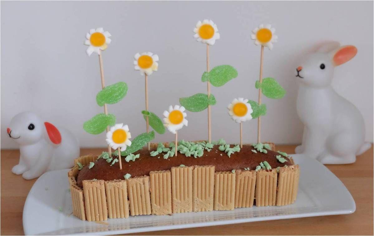 Le gâteau jardinière vite fait ! �