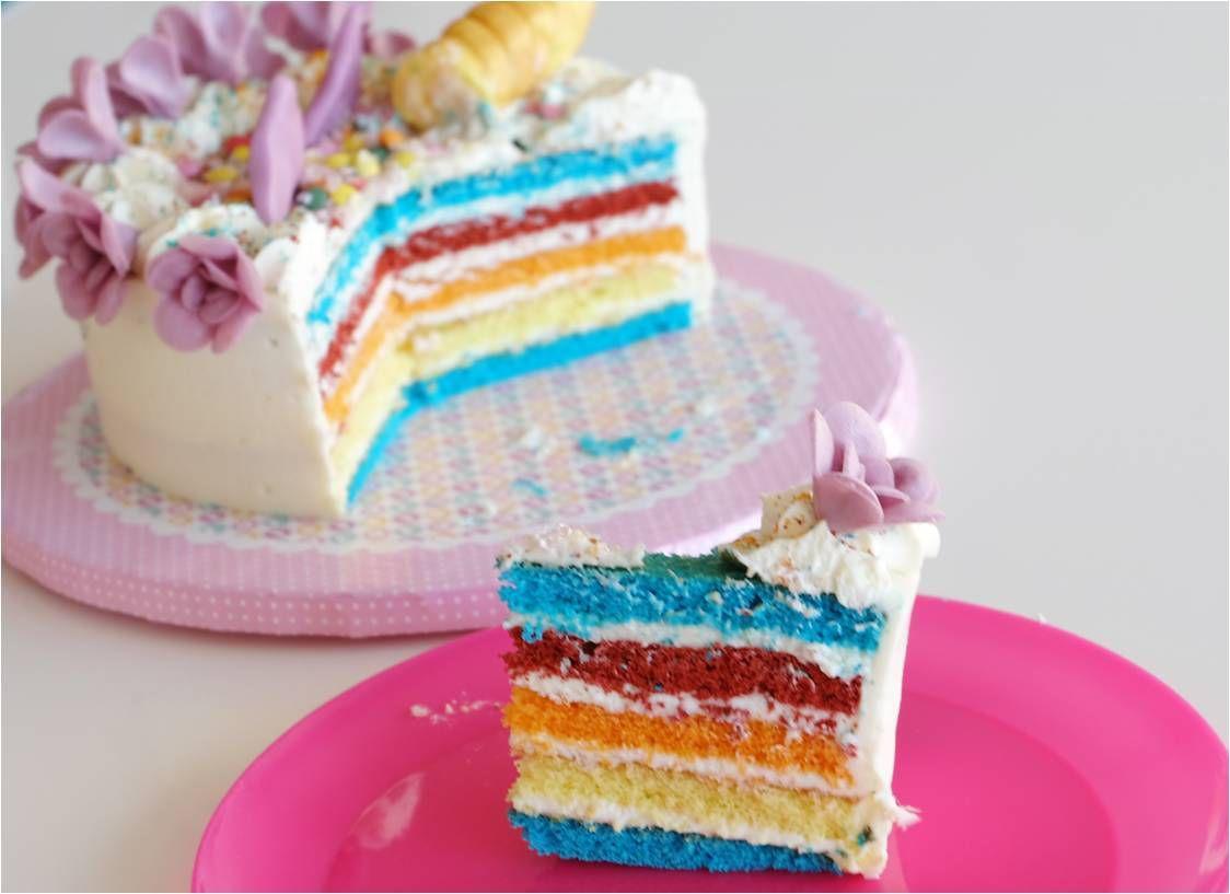 Rainbow Cake Sans