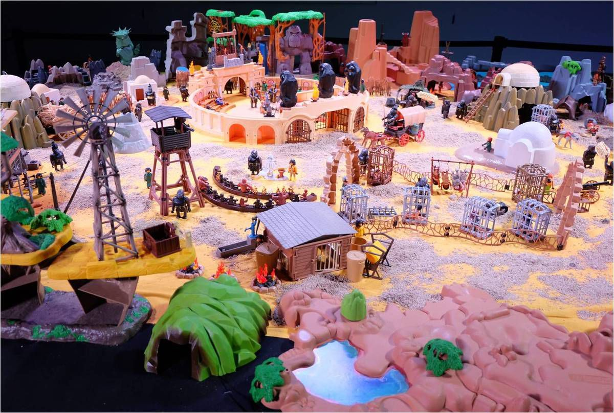 Exposition Playmobil à Miniworld Lyon