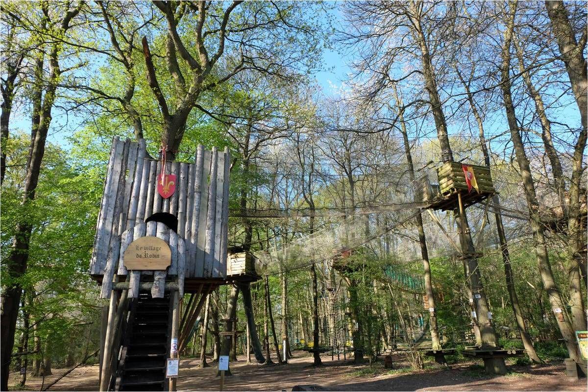 Sherwood Parc, accrobranche dès 1 m