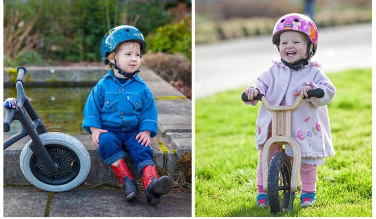 Les enfants à vélo, c'est casque obligatoire ! {concours}
