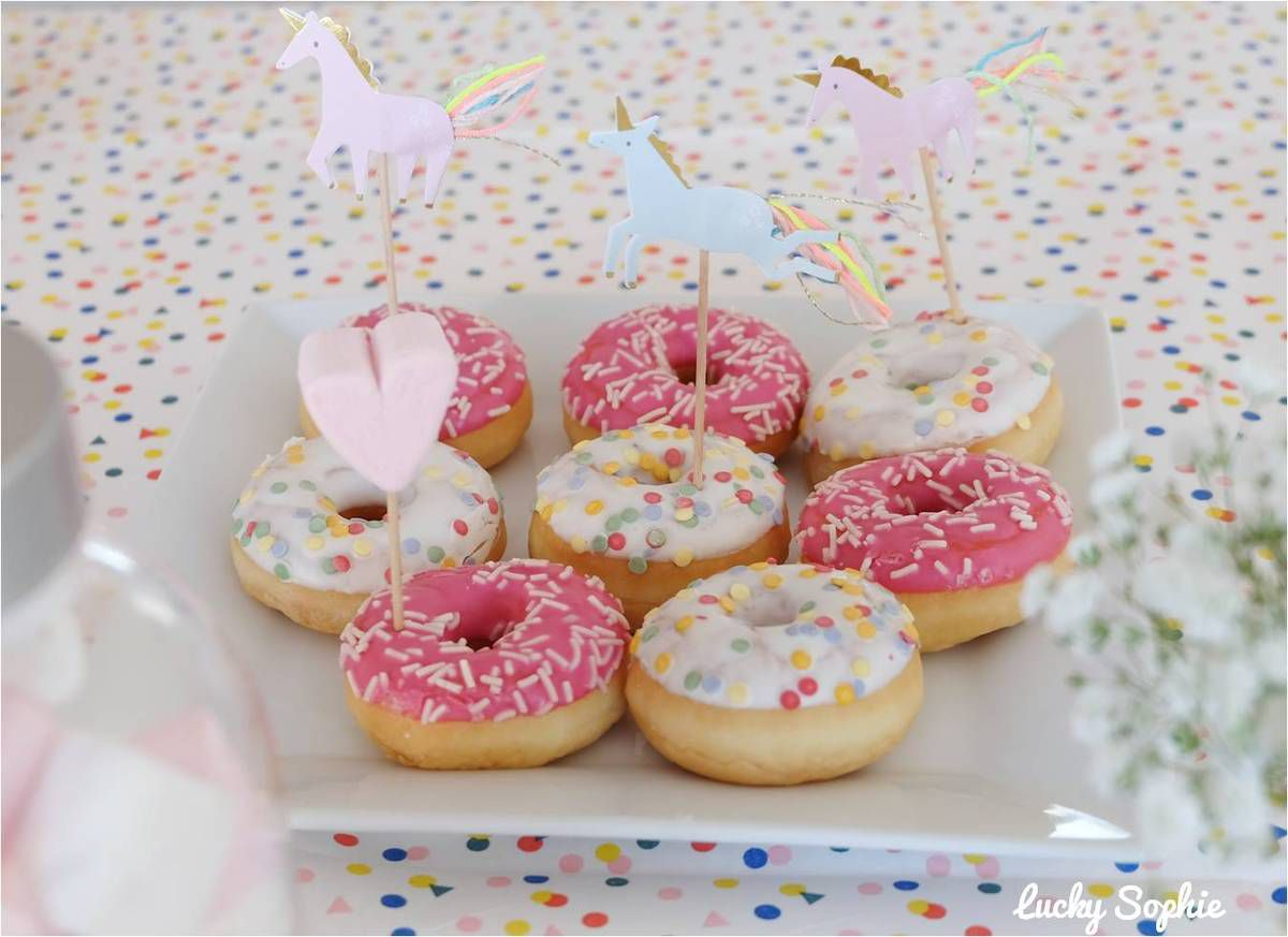 Anniversaire pyjama party licorne 🦄 , Lucky Sophie, blog