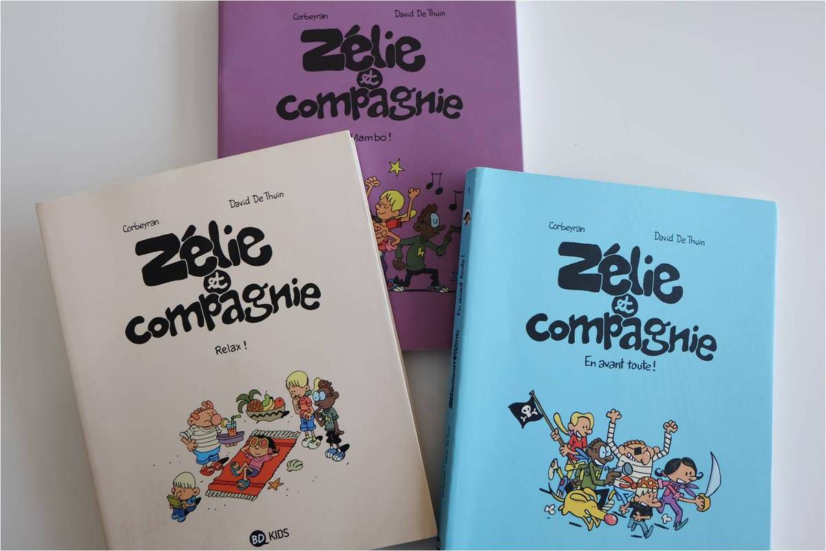 Des BD pour enfants 8-10 ans !