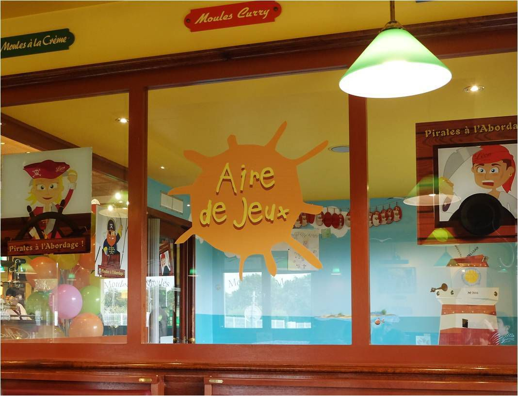 Léon de Bruxelles, resto kids friendly